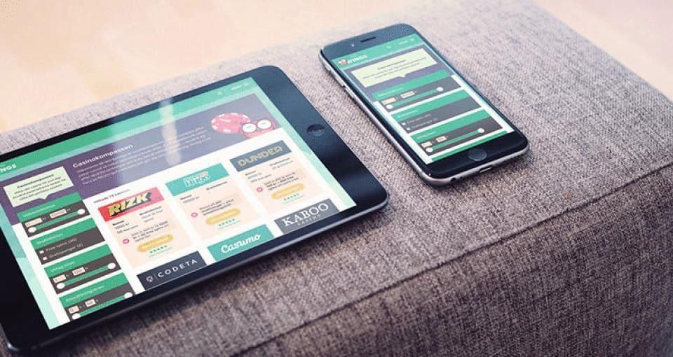 Spela casino på smartphone nu